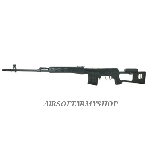 Airsoft zbraň CA Dragunov SVD Black