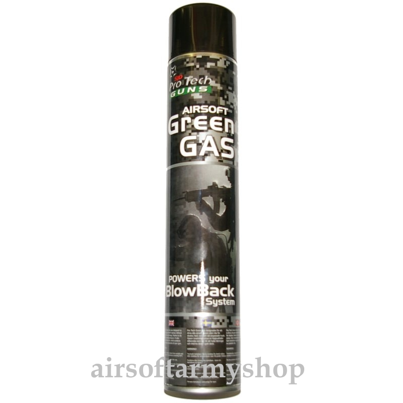 Airsoft plyn Pro tech Green Gas 1000
