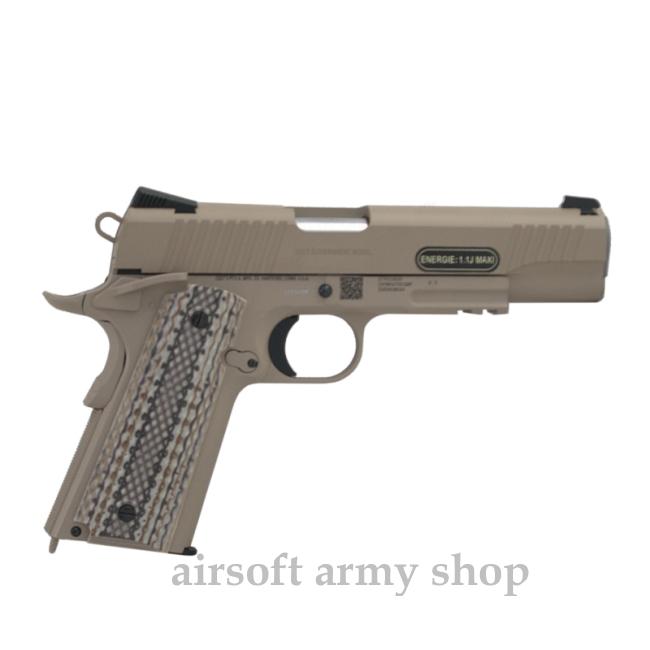 928e9387c Airsoft plynovka Colt M45 kov